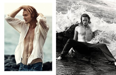 Christopher Harris @ Wilhelmina Hawaii for The Fashionisto by Benjo Arwas