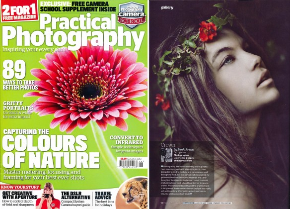Practical Photography Magazine feature Benjo Arwas