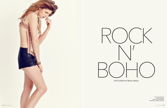 Andrea Wahlgren by Benjo Arwas for Remark Magazine