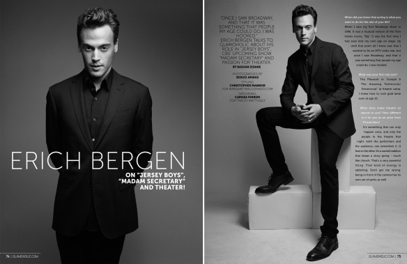Erich Bergen By Benjo Arwas