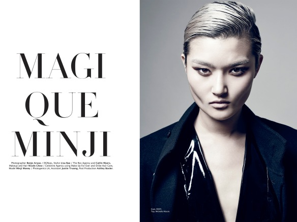 Magique Minji for Factice Magazine #4 Hiver 2014